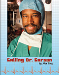 Link to book Calling Dr. Carson