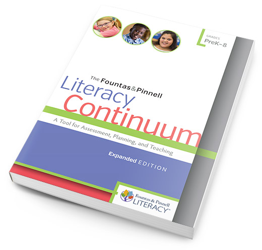 Literacy Continuum Expanded Edition book