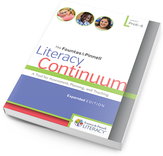 Literacy Continuum cover