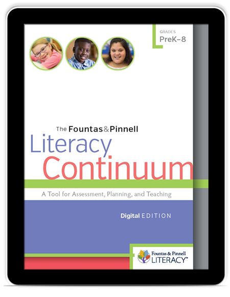 Literacy Continuum, Digital Edition Expanded Edition book