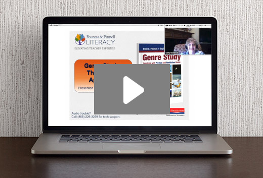 Genre Study: The Inquiry Approach Webinar