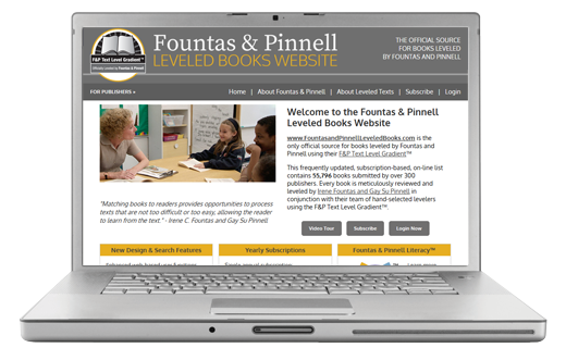 Leveled Books Website