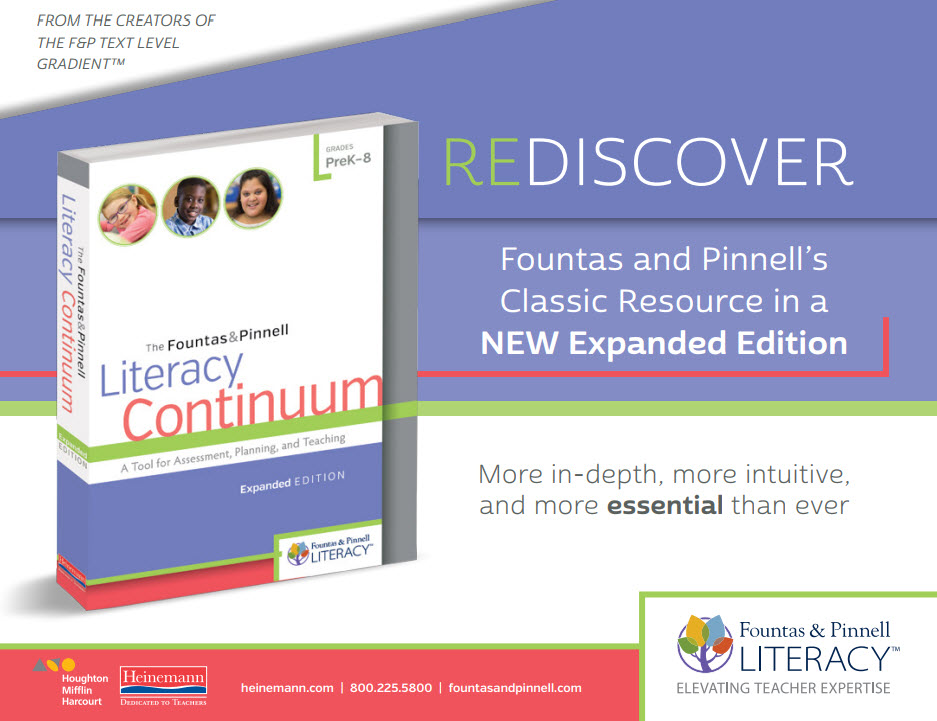 The Literacy Continuum, Expanded Edition Digital Sampler