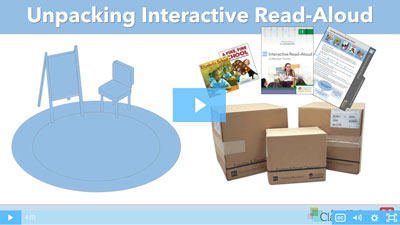 Unpacking Fountas & Pinnell Classroom™ Interactive Read-Aloud