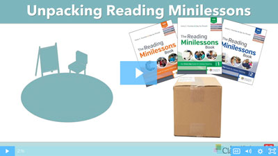 Unpacking Fountas & Pinnell Classroom™ Reading Minilessons