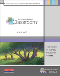 Fountas & Pinnell Classroom At-A-Glance Brochure