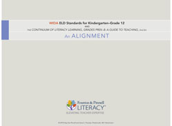 WIDA English Language Development Standards