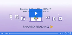 Remote Learning Resources: Shared Reading