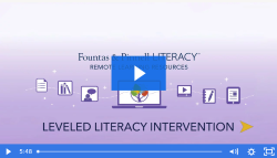 Remote Learning Resources: Leveled Literacy Intervention, Orange, Green, Blue, Red