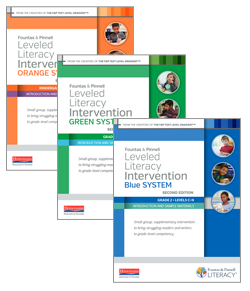 Leveled Literacy Intervention, K-2, Second Edition Sampler