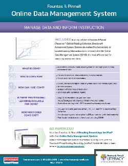 Online Data Management System Information Sheet