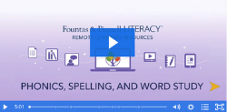 Remote Learning Resources: Phonics, Spelling, and Word Study