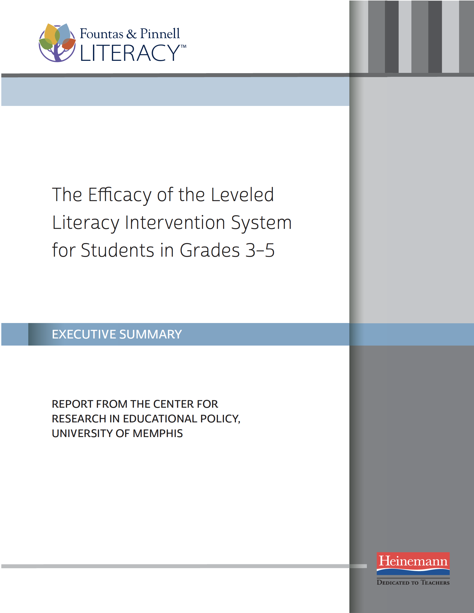 LLI Grades 3-5 Efficacy Study—Executive Summary