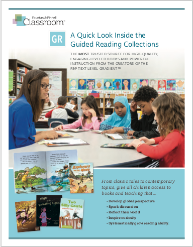 FPC Guided Reading Collections Quick Look Flyer