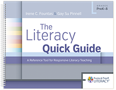 The Literacy Quick Guide sample chapter
